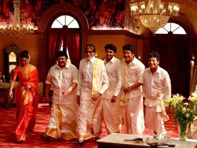 Amitabh Bachchan,Akkineni Nagarjuna,Manju