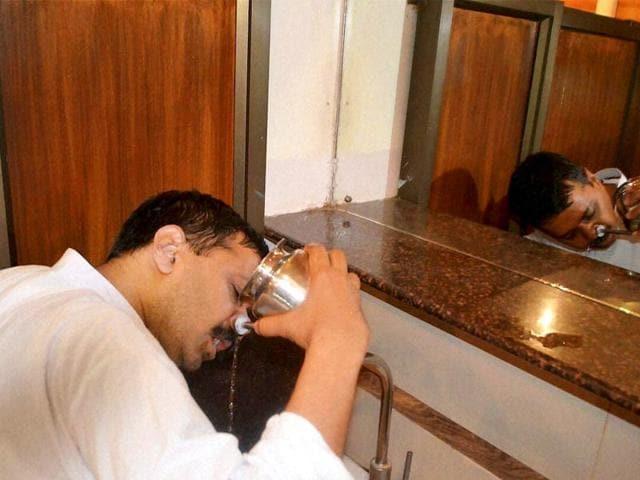 Arvind Kejriwal,coughing,PDS< Delhi
