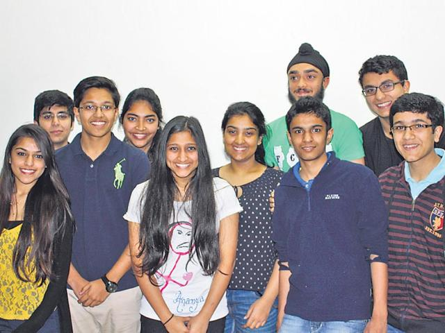 The-group-of-students-from-The-Shri-Ram-School-in-Vasant-Kunj-who-worked-for-two-years-for-the-whistle-HT-photo