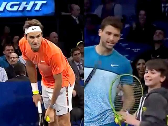 Roger Federer,Grigor Dimitrov,Tennis