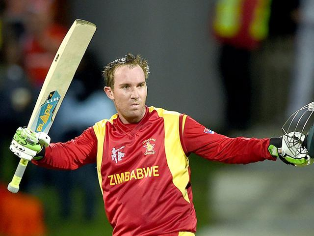 Zimbabwe-s-Brendan-Taylor-celebrates-his-century-at-the-Bellerive-Oval-in-Hobart-during-the-2015-World-Cup-match-between-Zimbabwe-and-Ireland-AFP-Photo