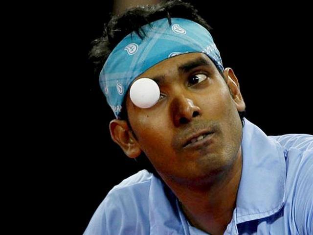 Achanta Sharath Kamal,Asian Cup,Table Tennis