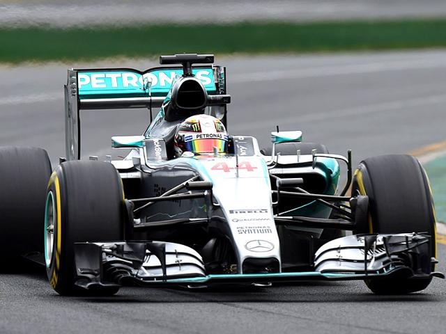 Mercedes-F1-team-s-British-driver-Lewis-Hamilton-in-action-during-qualifying-at-the-Australian-Grand-Prix-in-Melbourne-AFP-Photo