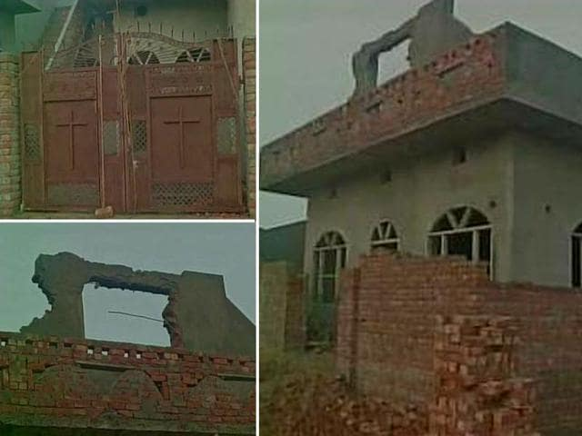 The-under-construction-church-in-Hisar-Haryana-which-was-attacked-on-Sunday-ANI-Photo