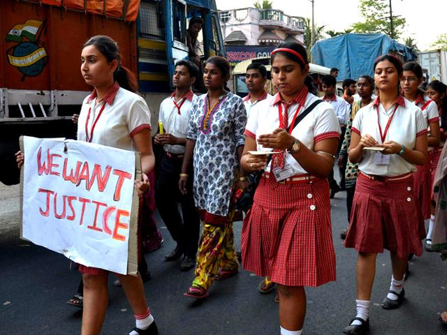 Students-from-the-Convent-of-Jesus-and-Mary-in-Ranaghat-70km-north-of-Kolkata-protest-after-a-71-year-old-nun-was-gangraped-at-the-convent-AFP-Photo