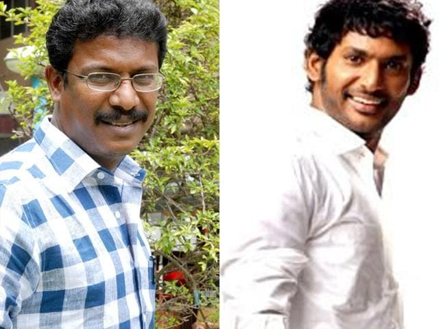While-Samuthirakani-mostly-appears-as-character-roles-Vishal-Krishna-Reddy-is-a-leading-actor-whose-films-Poojai-and-Aambala-were-successes-Samudhrakani-Facebook-Vishalkrishnareddy-Facebook