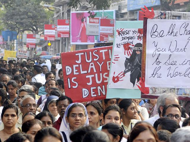 People-stage-protest-against-gangrape-of-71-year-old-nun-in-Kolkata-West-Bengal-Ashok-Nath-Dey-HT-Photo
