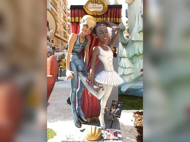 Fallas festival,satire,Barack Obama