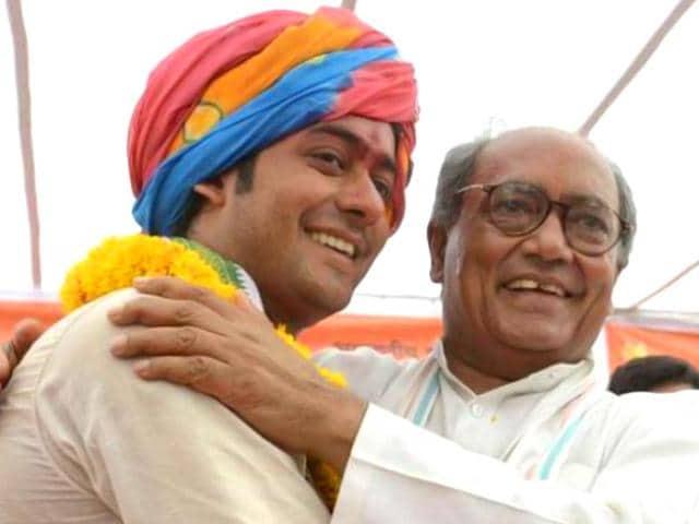 Digvijaya Singh,Jaivardhan marriage,AICC