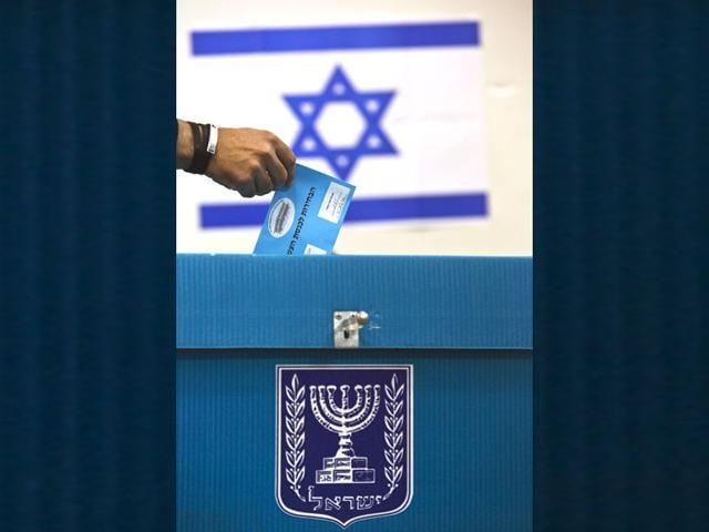 An-Israeli-voter-casts-a-ballot-at-a-polling-station-in-Ramat-Gan-near-Tel-Aviv-Reuters-Photo