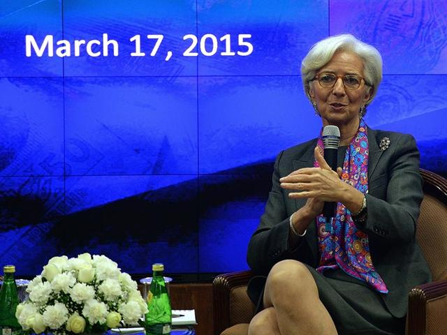International-Monetary-Fund-chief-Christine-Lagarde-speaks-during-an-discussion-panel-at-the-Reserve-Bank-of-India-RBI-head-office-in-Mumbai-AFP-Photo