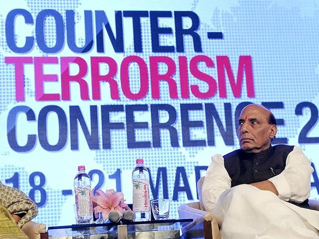 Home-minister-Rajnath-Singh-at-the-inaugural-session-of-four-day-counter-terrorism-conference-at-Marriott-Hotel-in-Jaipur-HT-Photo-Himanshu-Vyas