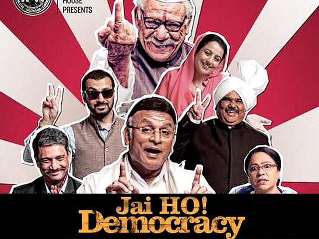 Jai Ho Democracy trailer,Jaane Bhi Do Yaaro,Annu Kapoor