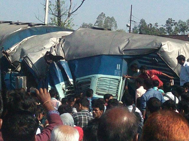 Janata Express derailment