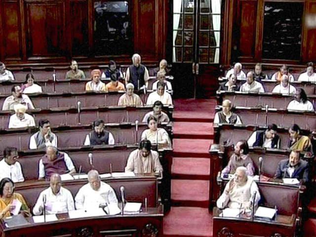 Prime-Minister-Narendra-Modi-and-other-members-in-the-Rajya-Sabha-in-New-Delhi-PTI-Photo
