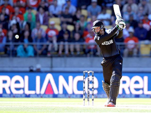 Martin-Guptill-plays-a-shot-during-the-2015-Cricket-World-Cup-quarter-final-match-between-New-Zealand-and-the-West-Indies-in-Wellington--AFP-Photo-Michael-Bradley