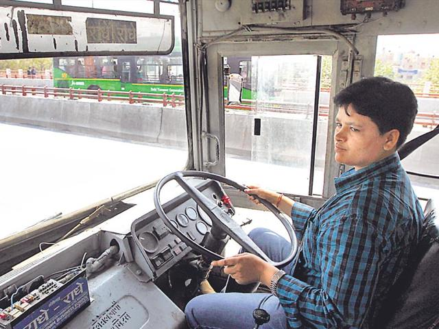 V Saritha,DTC,First Woman Driver