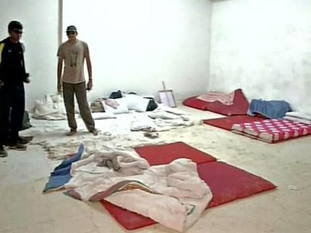 The-differently-abled-athletes-were-forced-to-sleep-on-the-floor-at-the-National-Para-Athletics-Championships-camp-in-Ghaziabad-ANI-Photo