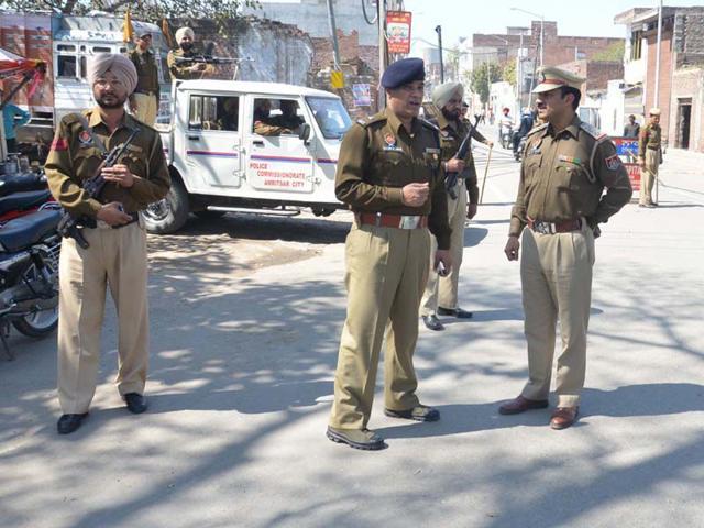 CISF,Punjab,police