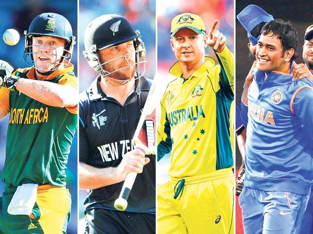 The ways and means of Dhoni, Clarke, De Villiers and McCullum