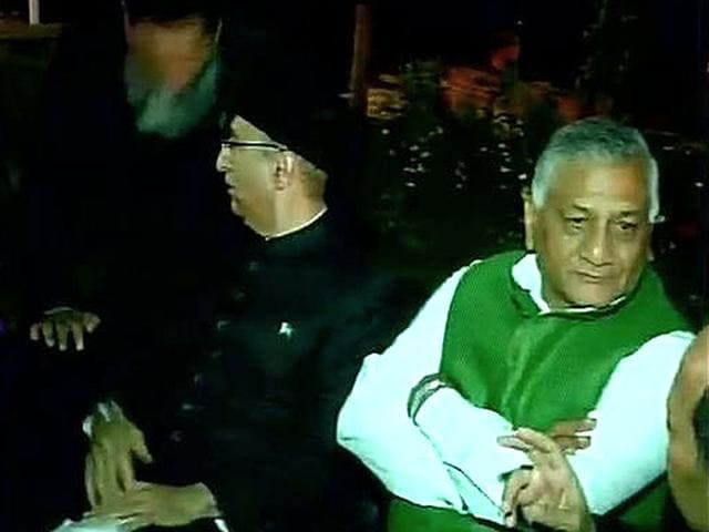V K Singh,External affairs ministry,Pakistan National Day