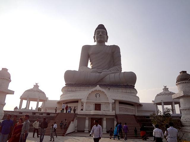 The-giant-Buddha-statue-at-Amaravati-HT-Photo