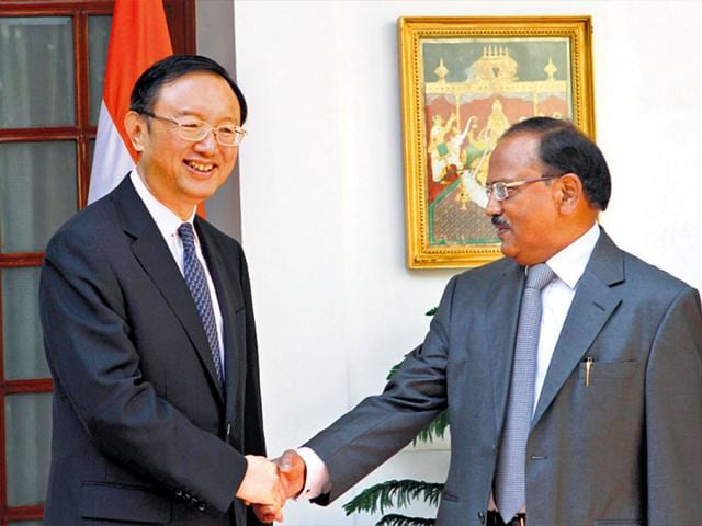 NSA-Ajit-Doval-with-China-special-representative-on-the-India-China-Boundary-Question-Yang-Jiechi-Virendra-Singh-Gosain-HT-Photo
