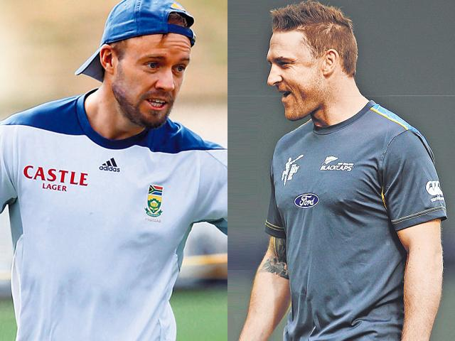A-combination-photograph-of-South-African-skipper-AB-de-Villiers-and-New-Zealand-captain-Nathan-McCullum-File-Photo