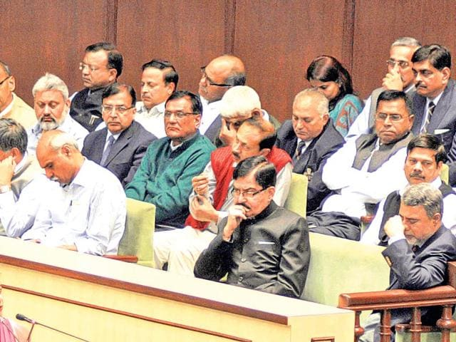 Senior-IAS-and-IPS-officers-attend-the-assembly-during-the-ongoing-session-HT-File