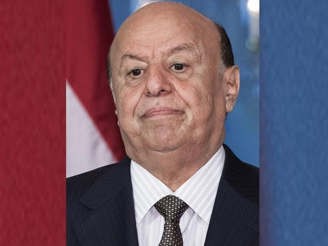 A-file-picture-shows-Yemen-s-President-Abedrabbo-Mansour-Hadi-listening-to-the-translation-in-the-Treaty-Room-of-the-US-State-Department-following-a-bilateral-meeting-AFP-Photo