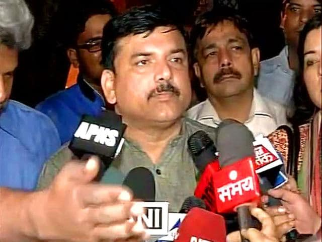 AAP-leader-Sanjay-Singh-talks-to-the-media-ANI-Photo