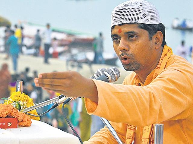 A-devout-Muslim-by-birth-Faiz-Khan-is-a-firm-believer-in-the-need-to-protect-cows-Rajesh-Kumar-HT-Photo