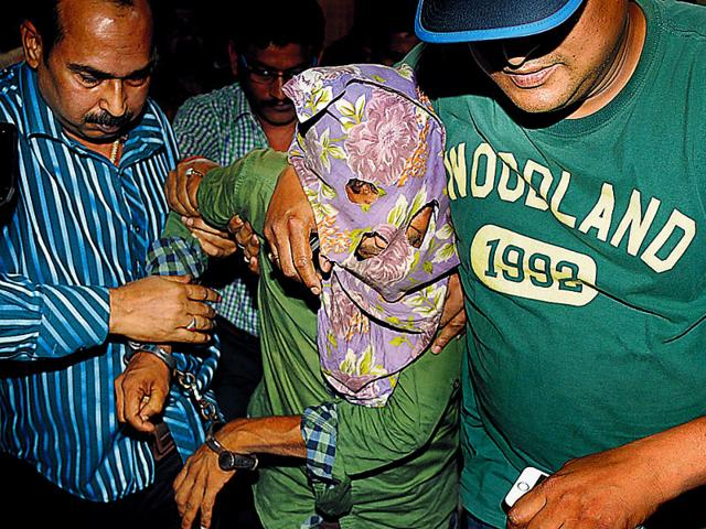 Salim-one-of-the-men-accused-of-raping-an-elderly-nun-in-West-Bengal-s-Ranaghat-in-CID-custody-in-Kolkata--Subhankar-Chakraborty-HT