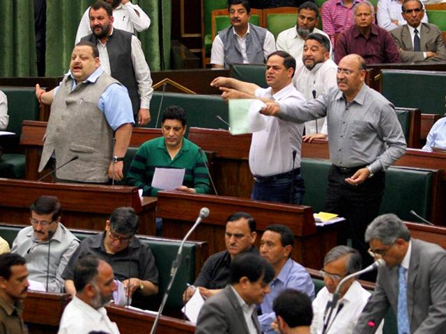 jammu and kashmir assembly,Omar Abdullah,power projects in Jammu