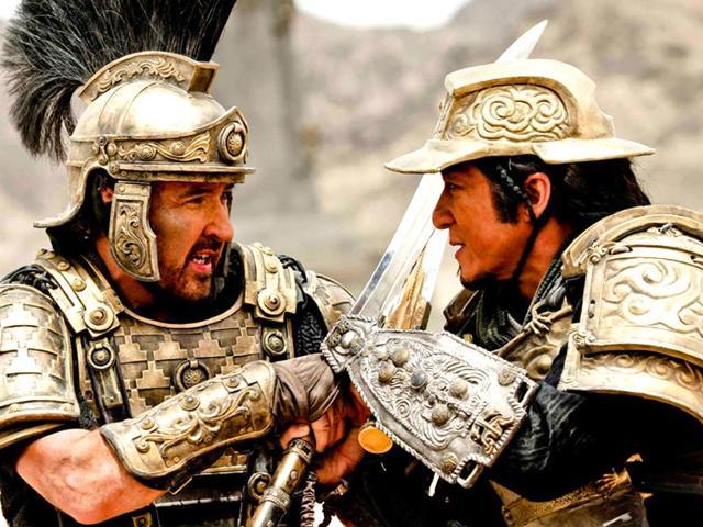 Dragon Blade,film review,movie review