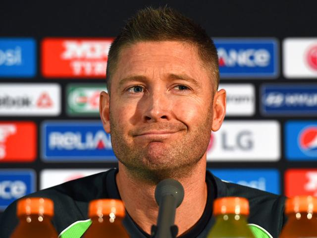 Australian-cricket-captain-Michael-Clarke-speaks-at-a-press-conference-after-announcing-his-retirement-from-one-day-international-matches-on-the-eve-of-the-2015-Cricket-World-Cup-final-in-Melbourne-AFP-Photo-William-West