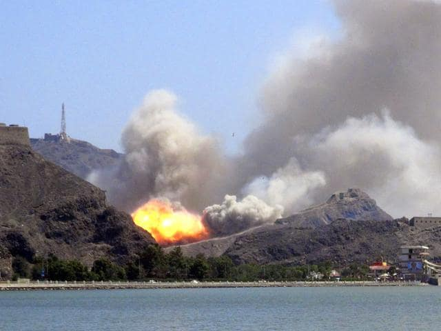 An-arms-depot-explodes-at-the-Jabal-Hadeed-military-compound-in-Yemen-s-southern-port-city-of-Aden-Reuters-Photo
