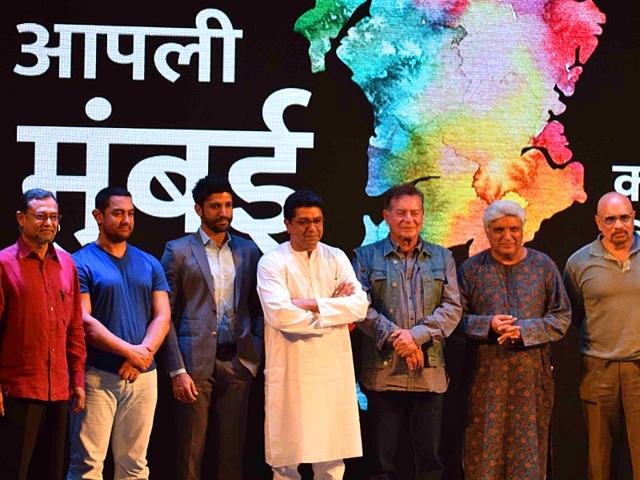 MNS-chief-Raj-Thackeray-interacted-with-actors-Aamir-Khan-Salman-Khan-Riteish-Deshmukh-Salim-Khan-and-Javed-Akhtar-about-the-controversial-BMC-s-Development-Plan-DP-in-Mumbai--HT-photo