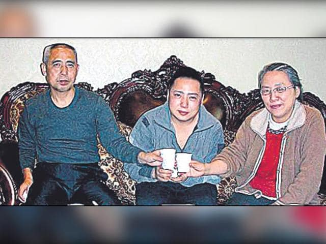 Hada-L-his-son-Uiles-and-wife-Xinna-had-a-brief-reunion-in-December-2010-before-they-were-separately-detained-S-Mongolian-Human-Rights-Information-Centre