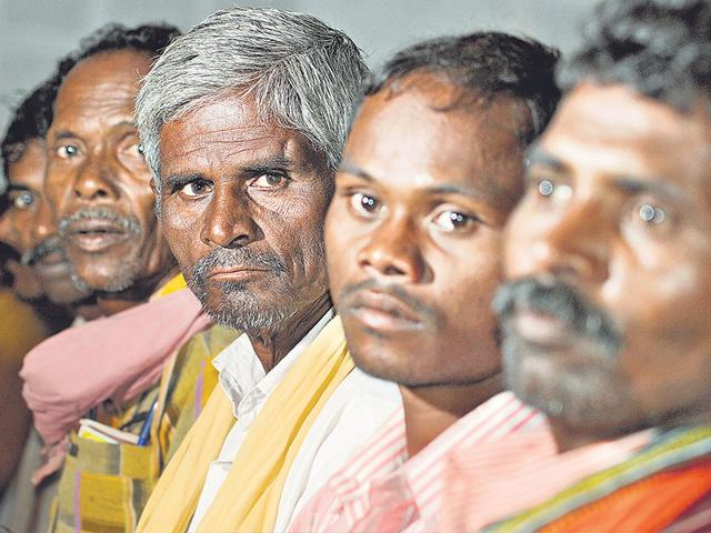 Rescued-labourers-from-Odisha-s-Balangir-district-attending-an-awareness-programme-organised-by-an-NGO-Photo-Samir-Jana-HT