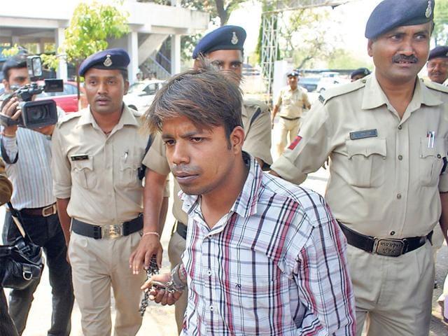 The-accused-Saurabh-Jain-alias-Sonu-who-was-arrested-on-Saturday-Bidesh-Manna-HT-photo