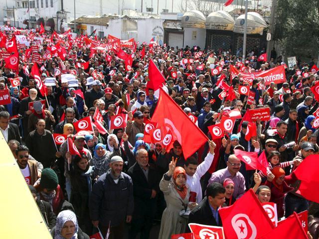 Tunisia march,extremism,Tunisia museum attack