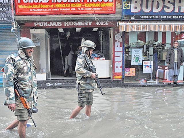 J-K floods,rains in J-K,flood alert in J-K