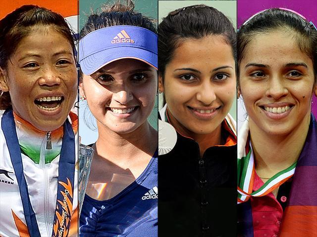 Women Athletes,Indian Women Athletes,Saina Nehwal