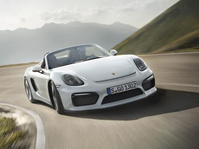 The-Porsche-Boxster-Spyder-Photo-AFP