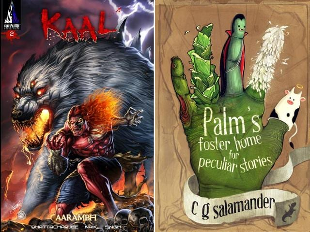 Comic Con 2015,Bangalore Comic Con 2015,Palm's Foster Home For Peculiar Stories