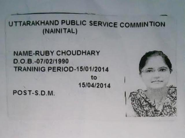 For 6 months, this woman stayed at Mussoorie academy posing as IAS officer