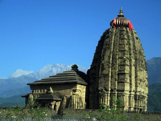 The-famous-ancient-temple-of-Lord-Shiva-at-Baijnath-in-Kangra-district-HT-photo