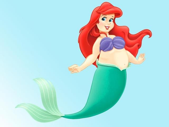In Pics Plus Size Disney Princesses Show Beauty Comes In All