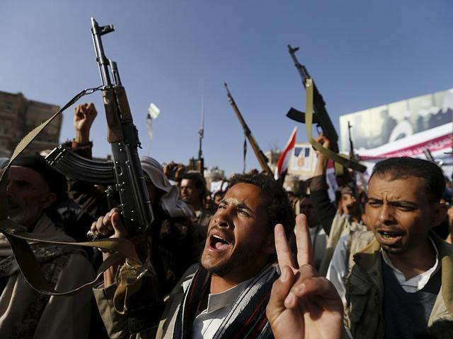 Followers-of-the-Houthi-demonstrate-against-the-Saudi-led-air-strikes-on-Yemen-in-Sanaa-Photo-Reuters
